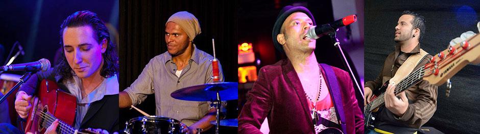 Marco Salles, Daniel De Alcala & Live Band