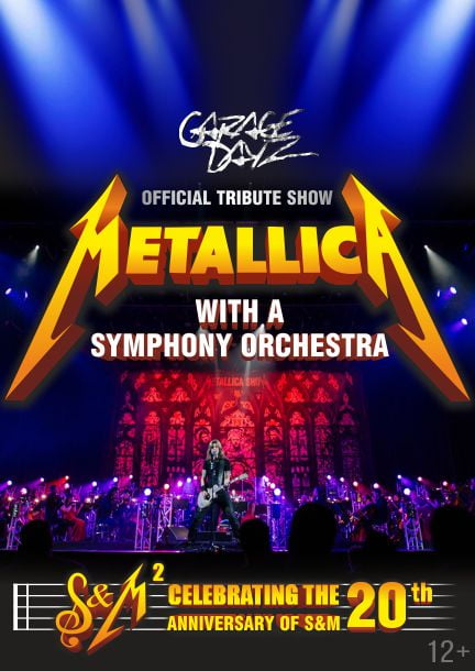 Metallica Show S&M Tribute With A Symphony Orchester